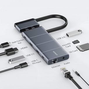 Anker PowerExpand Direct 9-in-2 USB-C PD Media Hub A8384