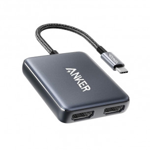 Anker PowerExpand USB-C to Dual HDMI Adapter A8324