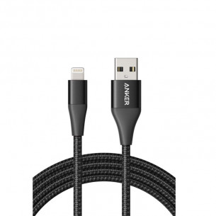Anker PowerLine+ II Lightning Black 6FT/1.8M