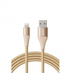 Anker PowerLine+ II Lightning Gold 6FT/1.8M