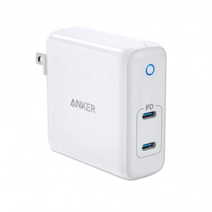 Anker PowerPort Atom PD 2 (GaN Tech) 60W 2PD - White