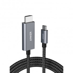 Anker Nylon Type-C to HDMI Cable 6FT/1.8M - Black
