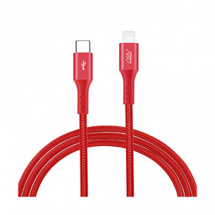 InnoStyle DuraFLEX 18W USB-C to Lightning 1.5M - Red