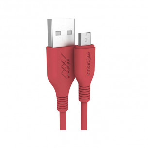 InnoStyle Jazzy USB-A to Micro USB Cable 1.2M - Red