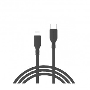 InnoStyle Jazzy USB-C to Lightning Cable 1.2M - Black