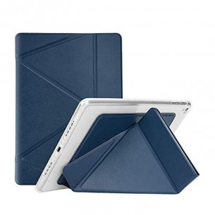 Logfer Leather Case for iPad Gen 8 - Blue