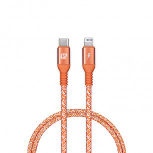Momax Elite Link Lightning to Type-C Cable 2.2M