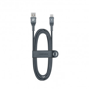 Momax Elite Link Type-C To USB Cable Dark Gray 1.2M