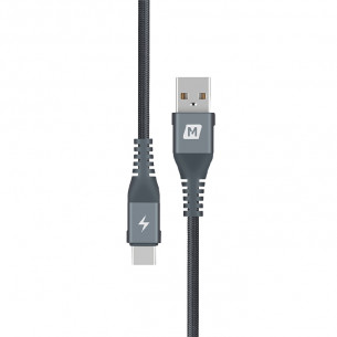 Momax Elite Link Type-C To USB Cable Dark Gray 0.3M