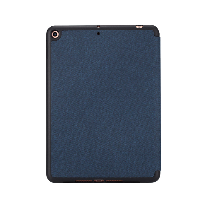 "Momax Flip Cover Case with Apple Pencil 1 Holder - iPad Mini 7.9"" 2019 - Gray"
