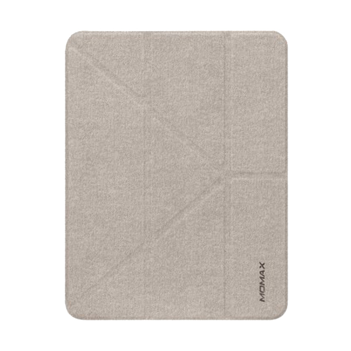 """Momax Flip Cover Case with Apple Pencil Holder - iPad Pro 12.9"""" 2018 - Gray"""