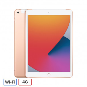 iPad Gen 8 2020 Wi-Fi + 4G 128GB - Gold