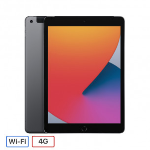 iPad Gen 8 2020 Wi-Fi + 4G 128GB - Space Gray