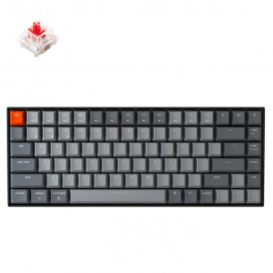 Keychron K2 LED RGB Backlight Aluminum Mechanical Switch Gateron Keyboard - Red